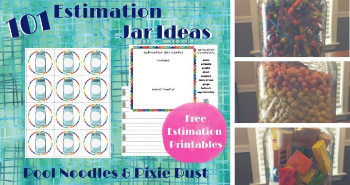 101 Estimation Jar Ideas Pool Noodles Pixie Dust